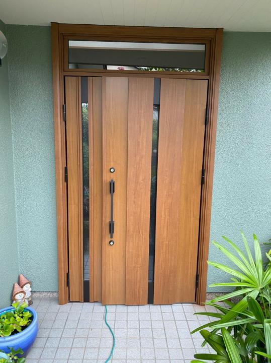玄関ドア 交換工事(神戸市西区)