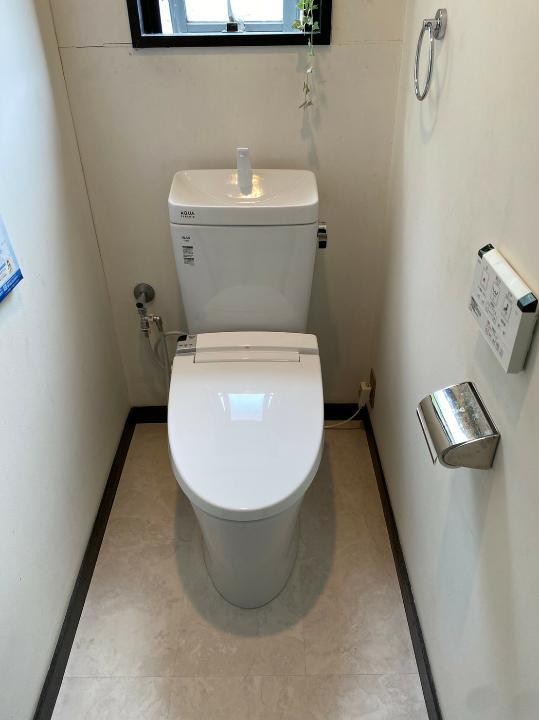トイレ入替工事(神戸市東灘区)